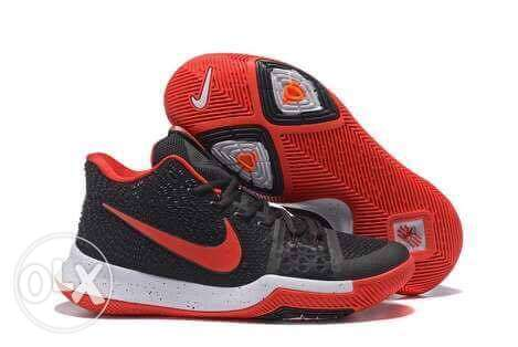 Kyrie irving 3 black red