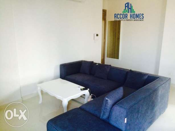 Stylish, fully furnished flat for rent in Hidd at 350/month