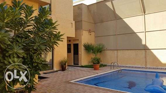 semi furnished private villa with pool