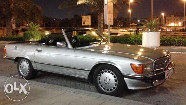 1986 SL 500 daily driver