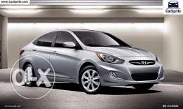 Hyundai Accent with zero downpayment monthly 85