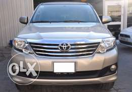 Toyota Fortuner 2014 modal Good condition for sale