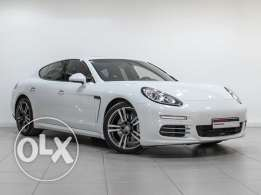 Porsche Approved Panamera White 2014MY