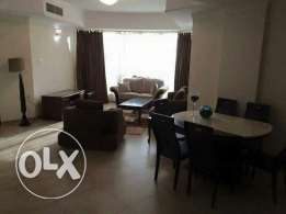 New Hidd: 2 bedroom fully furnished big flat for rent with pool
