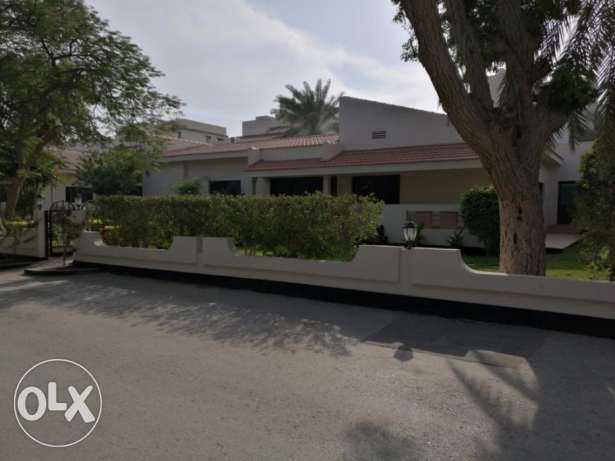 Beautiful 4 bedroom semi furnished compound Villa for rent at Saar