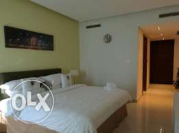 Fully furnished flat for rent in Reef Island
