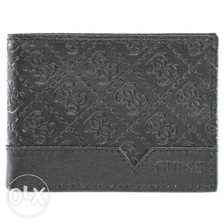 New Guess men wallet pure leather authentic unique design for sale
