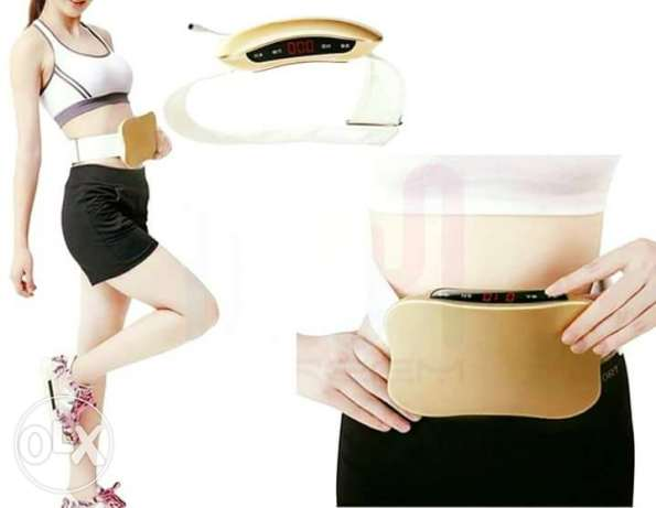 Belt for burning fat
