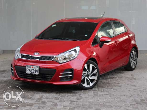 KIA Rio hatch back Full option 2016 Red For Sale