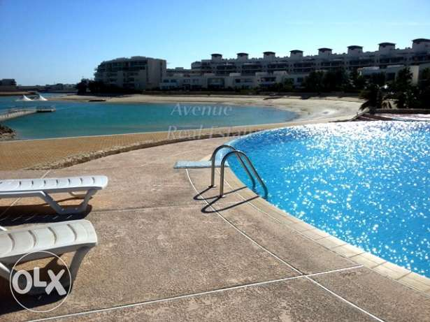 Tala-Amwaj: 2 BR Flat with beach/pool access/resort facilities