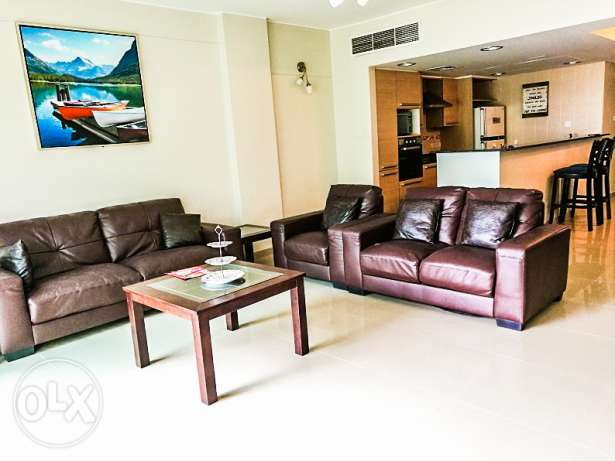 New Modern Luxurious Furnished 2 BR Apartment جزر امواج  -  3