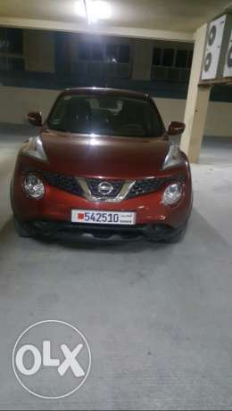 late 2015 Nissan Juke, 9800 km only, under warranty.