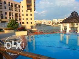 flat 3 bedroom ground floor in amwaj for rent