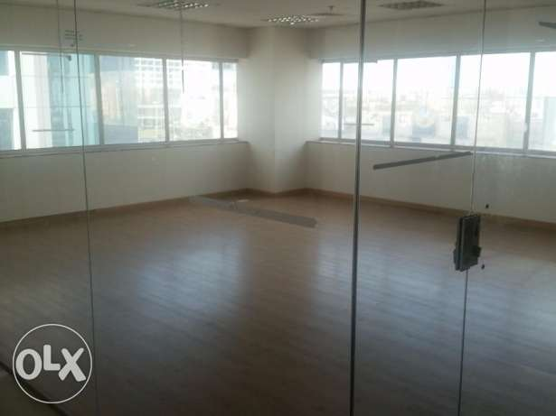 Office available in a known tower with other major offices in Sanabis