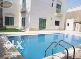 Modern specious 4 bedroom semi furnished villa for rent with amenity