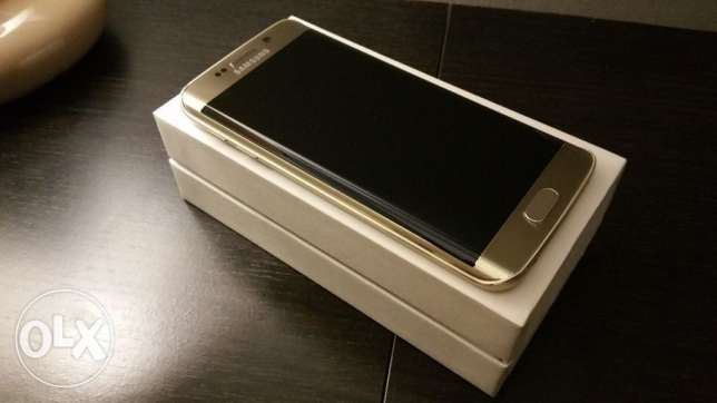Samsung galaxy S6 Edge 32 Gold colour