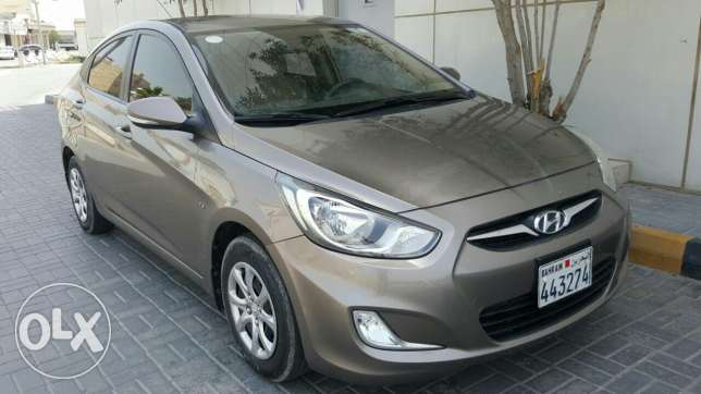 Hyundai Accent 2013 Model for cash purchase and bank installments .
