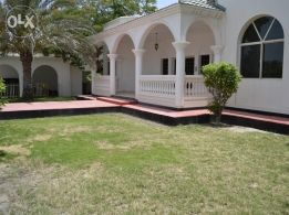 4 Bedroom semi furnished villa with garden,pool,Gym,Play area