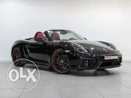 """Porsche Boxster 2015MY """"Approved"""" Black"""