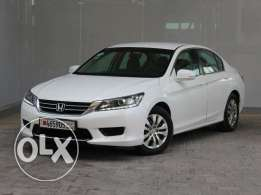 Honda Accord 4DR 2.4L DX Auto 2014 White For Sale