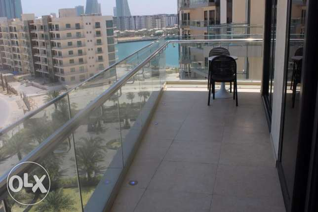 Sea view Fabulous 1 BR in Seef