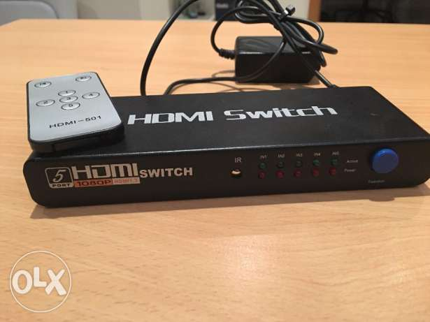 HDMI Switch (5 Ports)