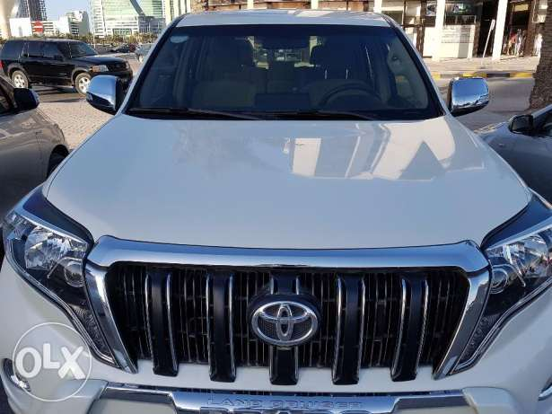 Toyota Prado 2014, 2.7 ltrs, 33500 Kms,Excellent Condition, BHD 8900/-