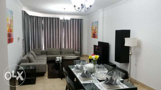 Three bedroom fully furnished luxury apartment in a best location