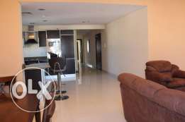 2 bedroom apartment in Mahooz fully furnished with facilities