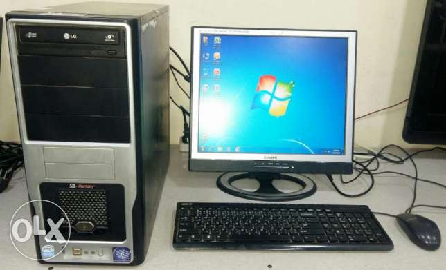 Computer Full Set DUAL CORE/ LCD monitor/LG dvd writer