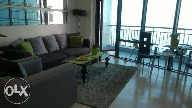 BEAUTIFUL SEA VIEW, 1 bedr.apartment, fully furnished, ERA Tower Seef