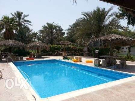 semi furnished villa inclusive