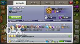 Clash of clans Account Th7 Max