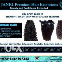 Premium Indian Virgin hair extensions