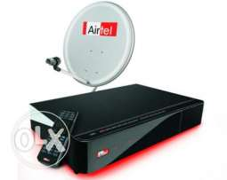 Airtel Normal & HD Receiver / Recharge Available.