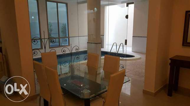 3 BR Fully Furnished Apartment For Rent with private swimming pool