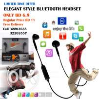 Elegant Style Bluetooth Hands Free Headset