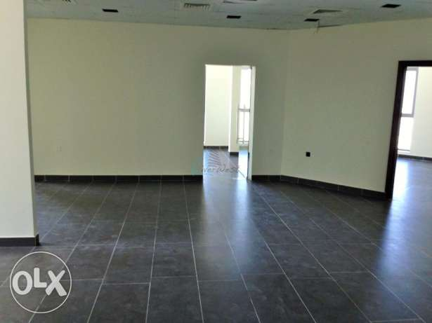 An open-floor plan Office Space for rent at Seef السيف -  3