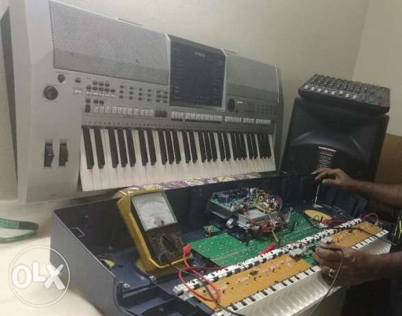 Professional musical instruments repair and service.