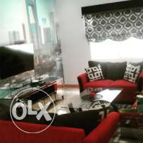 Two bedrooms fully furnished flat in Saar