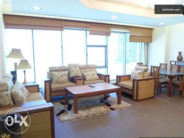 Spacious sea view flat in Seef 2 BR