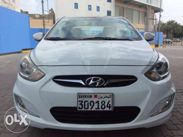For Sale 2014 Hyundai Accent 1.6 Single Owner Bahrain Agency