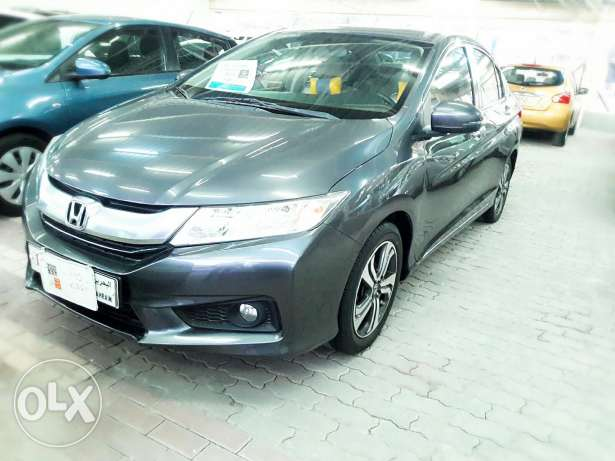 Honda city full option .2014 model .Button press starting. Loan availa