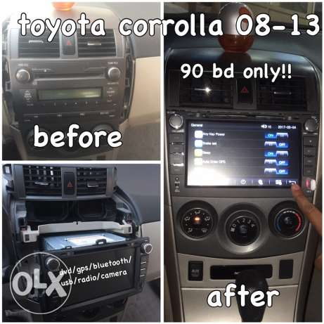 Dvd/gps System for Toyota Corolla