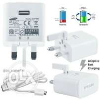 For sale cable & adapter Samsung fast Adaptiv fast Chrging.