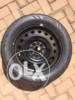"""For sale 16"""" inch rim with tyre"""