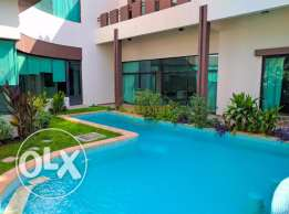 4 Bedroom semi furnished modern villa with private pool,