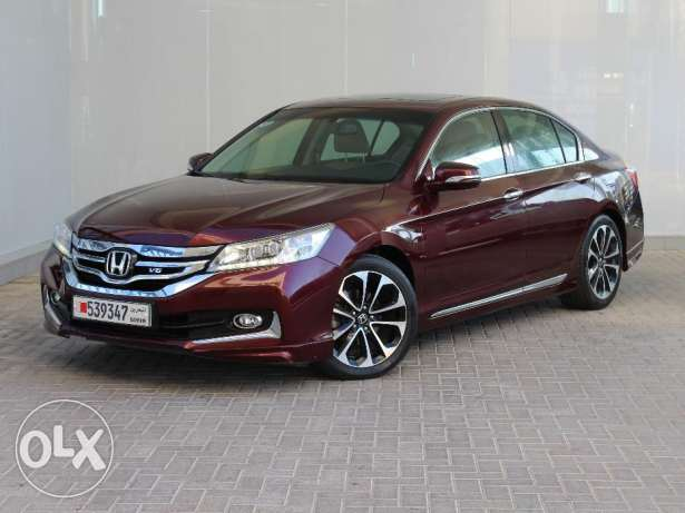 Honda Accord 2015 Maroon For Sale