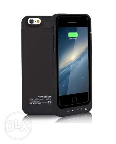 battery case for Iphone 6/6s 5000mAh More features الرفاع‎ -  3