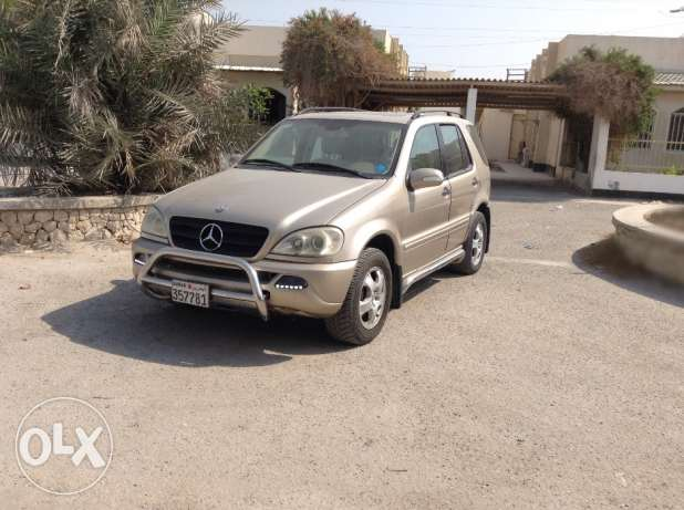 __•_MERCEDES BENZ M CLASS SUV in excellent condition URGENTLY Leav